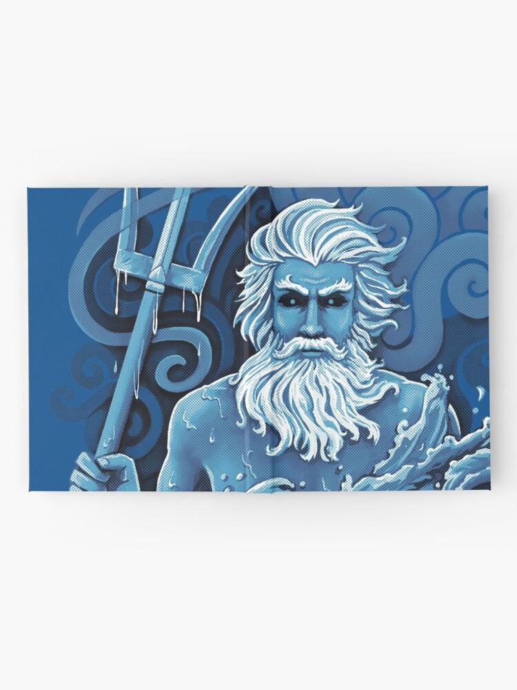 Alternate view of Poseidon Hardcover Journal