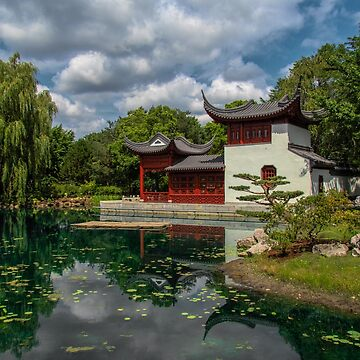 In the Chinese Garden at the Montreal Botanical Garden, Montreal, Canada by gerdagrice