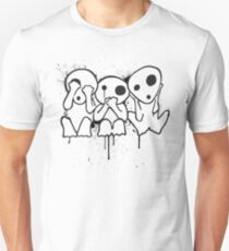 Kodama (Tree Spirits) Slim Fit T-Shirt