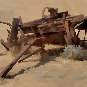 Old wagon by Osso