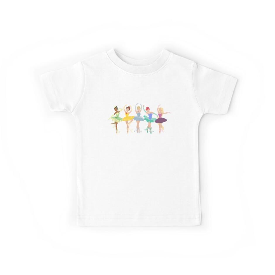 825c3963e Custom Ballerina Princess Shirt