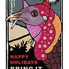 Happy Holidays by Caroline Barnes