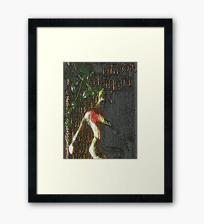 A Matter Of The Heart Framed Print
