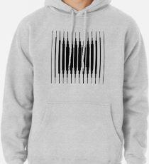 Square Lines (BLACK) Sudadera con capucha