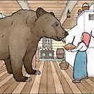 Masha and the Bear  by ChristmasPress