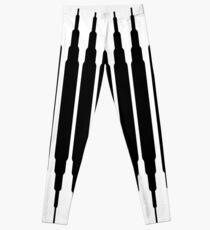 Square Lines (BLACK) Legging