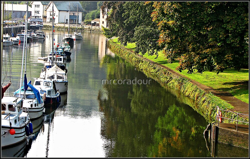 """""""The  River Dart at Totnes"""" by Malcolm Chant"""