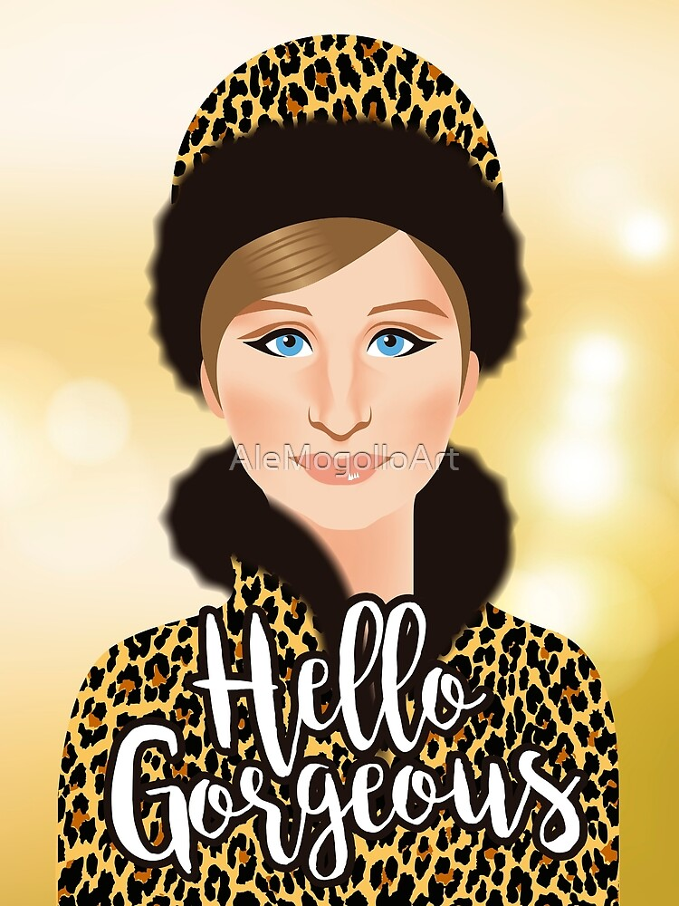 Hallo wunderschön! von AleMogolloArt