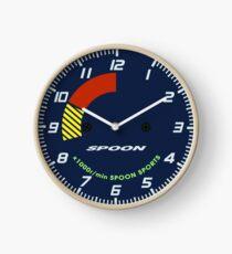 Löffel Tachometer Uhr Uhr