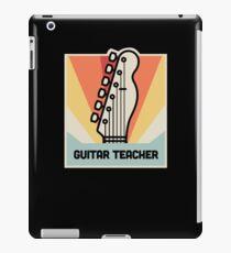Gift - Electric & Acoustic Guitar Teacher iPad Case/Skin