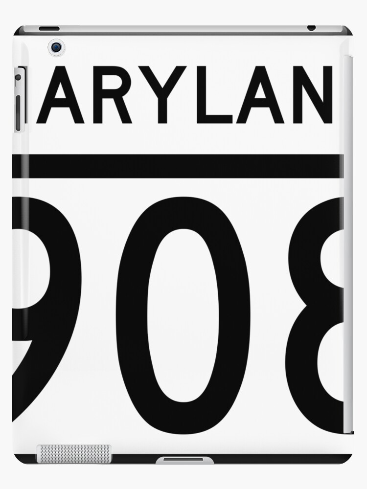 Maryland Route MD 908 | United States Highway Shield Sign Sticker by Scott Hamilton