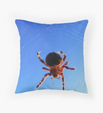 On a Cool October Morning Throw Pillow