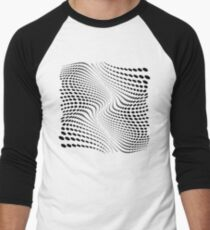 THE RIVER (BLACK) Camiseta ¾ estilo béisbol