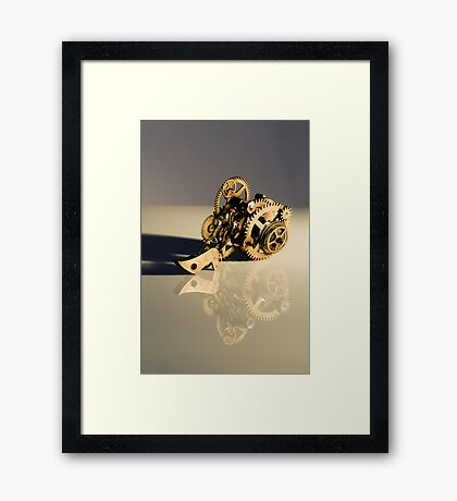 Steampunk device Framed Print