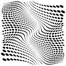 «THE RIVER (BLACK)» de geometricarte