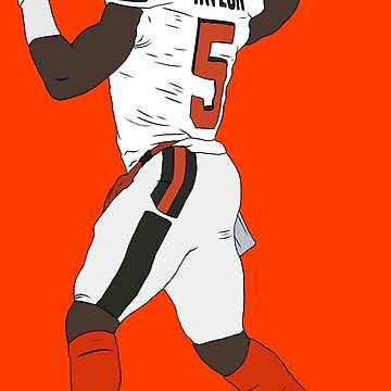 Tyrod Taylor Browns by RatTrapTees