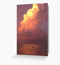 Batu Ferringhi Beach, Penang Greeting Card
