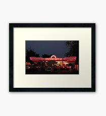 Westside Drive In Framed Print