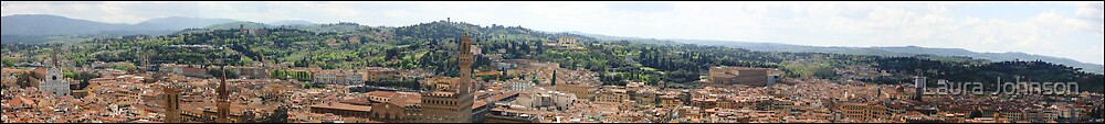 Florence Panorama by Laura Johnson
