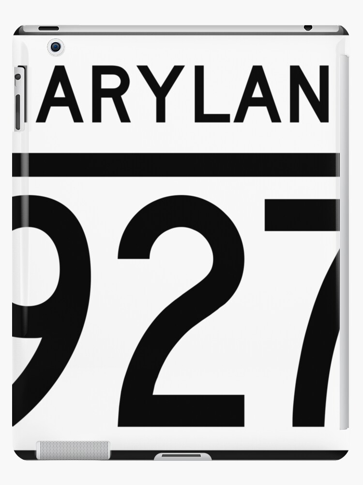 Maryland Route MD 927 | United States Highway Shield Sign Sticker by Scott Hamilton