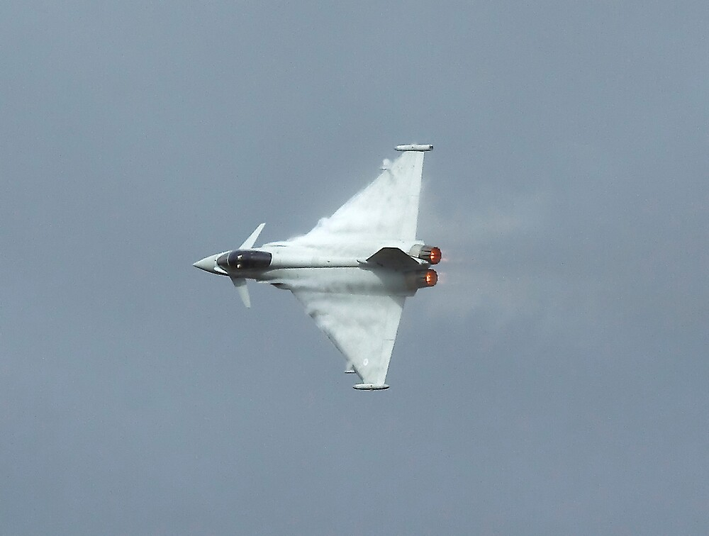 Typhoon hard turn by PhilEAF92