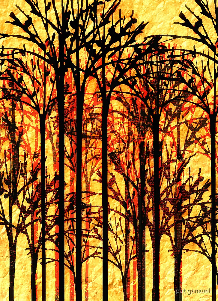 Abstract Autumn by pat gamwell