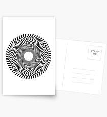 EYE 1 (BLACK) Postales