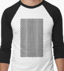 CINETI-K (BLACK) Camiseta ¾ estilo béisbol
