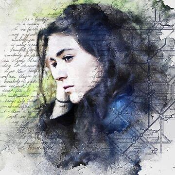 Sad Girl by jngraphs