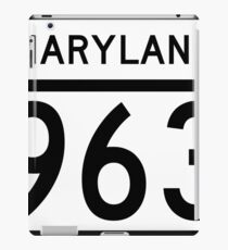 Maryland Route MD 963 | United States Highway Shield Sign Sticker iPad Case/Skin