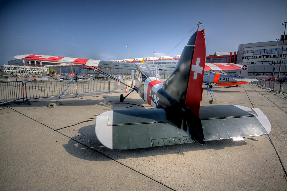 Geneva Classics 2009 - Aircraft 21 by David Freeman