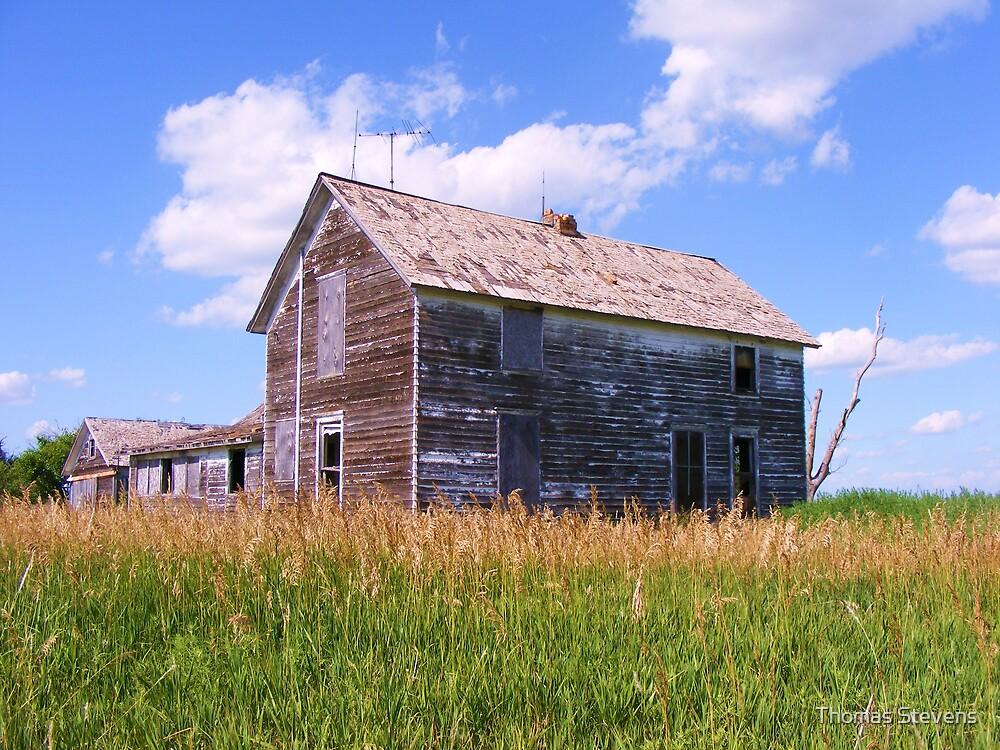 Farmhouse Lost by Thomas Stevens