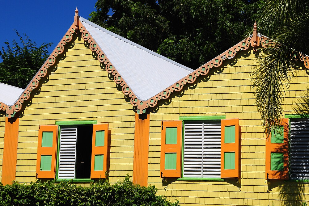 Colorful Home by Stuart Upchurch