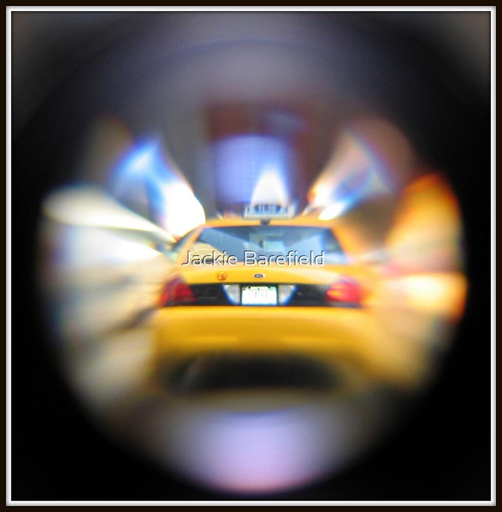 NY Cab by Jackie Barefield