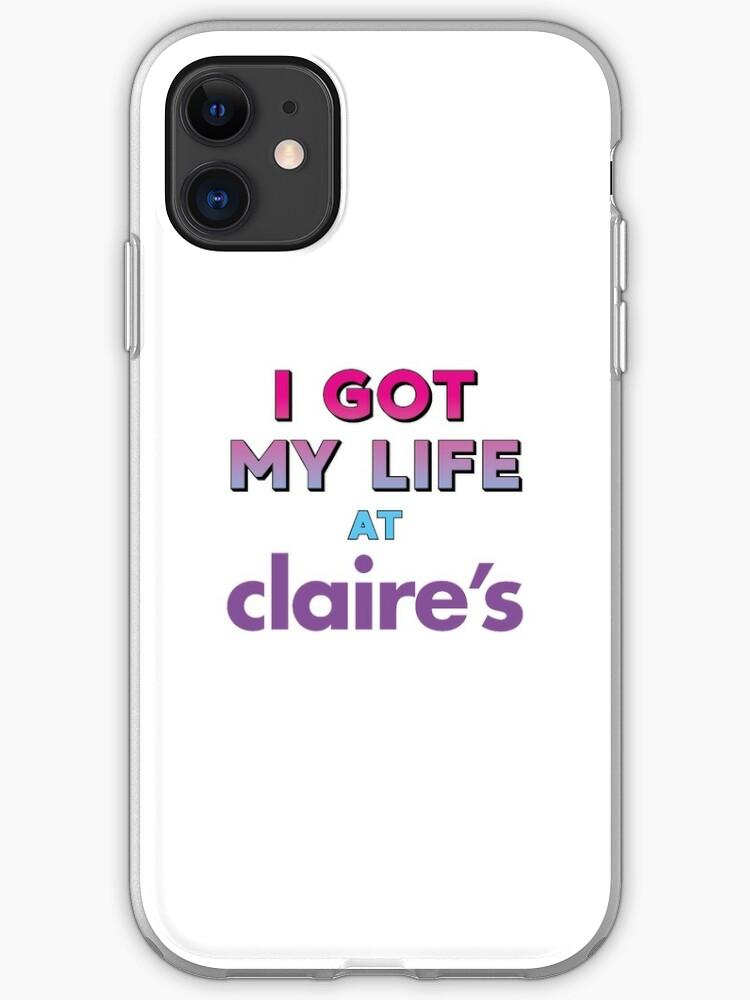 claire's funda iphone