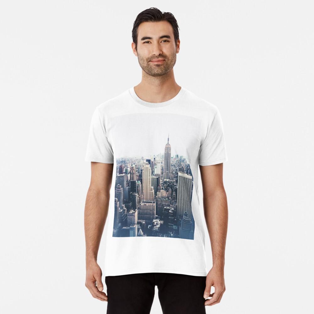 Foggy Day in New York City Premium T-Shirt