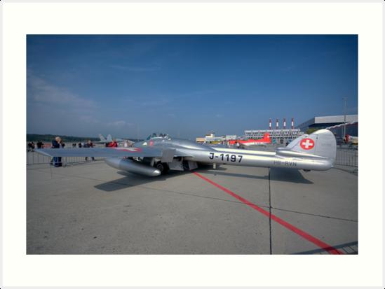 Geneva Classics 2009 - Aircraft 25 by David Freeman