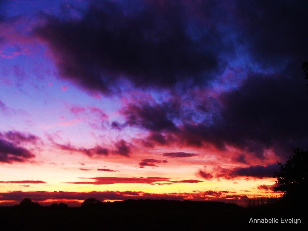 Purple sky by Annabelle Evelyn