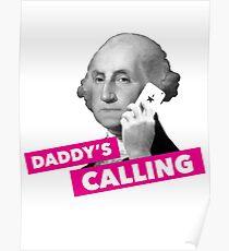 Hamilton - Daddy's Calling Poster