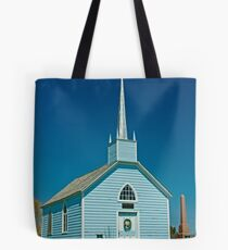 The Blue Church, Augusta Township, Ontario. 1845. Tote Bag