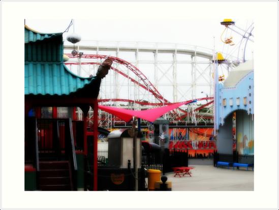 Inside Luna Park by Jackie Barefield