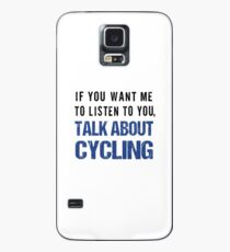 Rude Talk About Cycling T Shirt Case/Skin for Samsung Galaxy