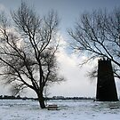 Beverley Westwood in the snow by Jon Tait
