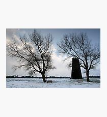 Beverley Westwood in the snow Photographic Print