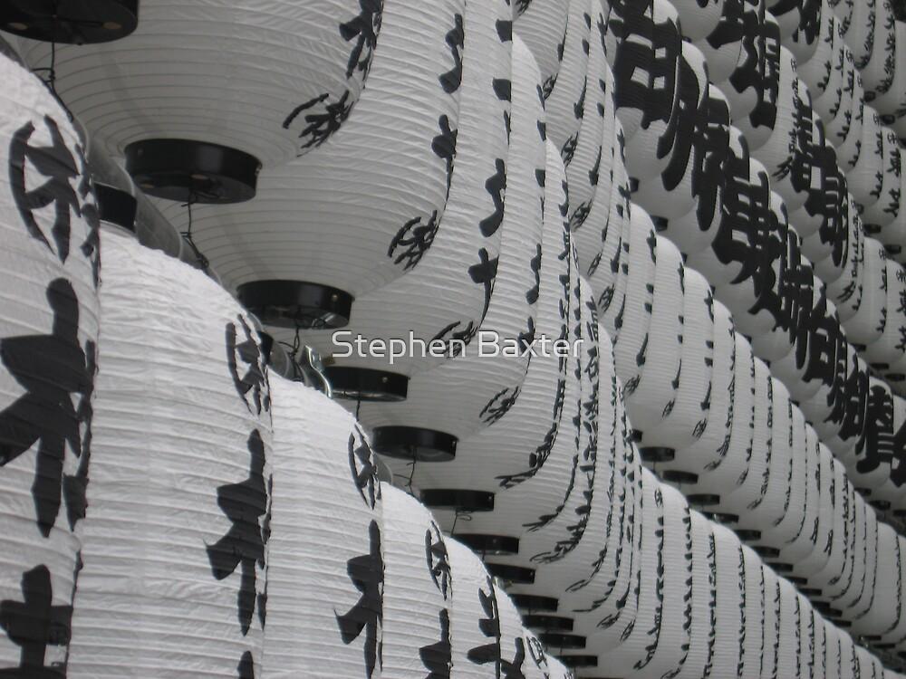 Lanterns 4 Tokyo by Stephen Baxter