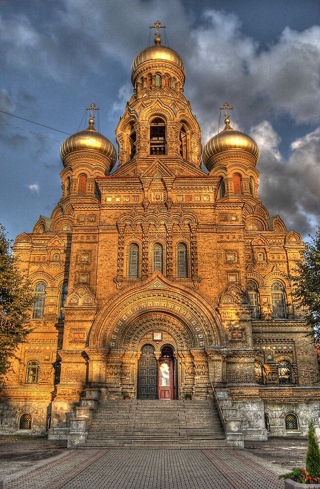 Maritime Cathedral of St. Nikolay by marco10