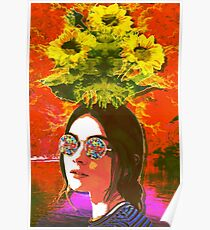 The Girl with Kaleidoscope Eyes Poster