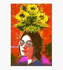 Das Mädchen mit Kaleidoskopaugen Fotodruck