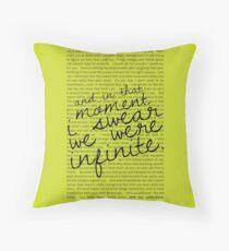 We Were Infinite - Quotes - Green Dekokissen