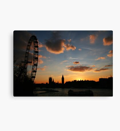 London's getting tired Canvas Print